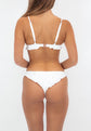 Luana Cheeky Bottoms - White Embroidery