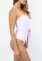 Olympia One-piece Swimsuit - Lilac