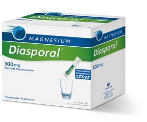 Magnesium | Diasporal | 50 sachets (one per day), Practitioner Only Products from Diasporal available at Nutrition Store Online