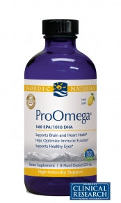 ProOmega® Liquid | Nordic Naturals | 8 fl oz | Lemon, Practitioner Only Products from Nordic Naturals available at Nutrition Store Online