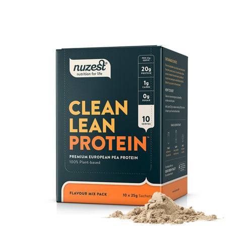 Clean Lean Protein | Sachets Box, Protein Powder from Nuzest available at Nutrition Store Online