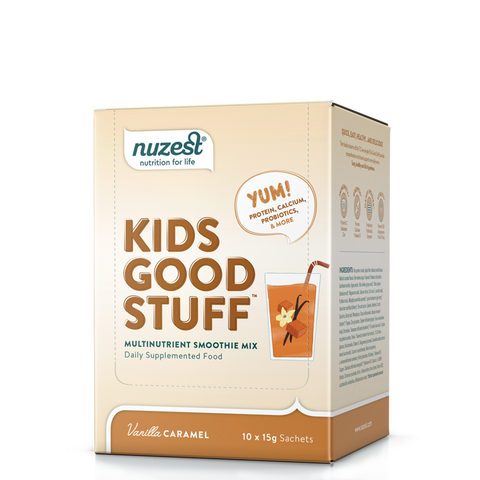 Kids Good Stuff | Sachets Box, Supplement from Nuzest available at Nutrition Store Online