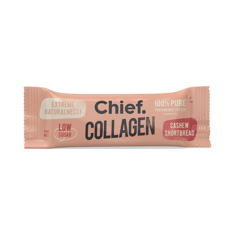Chief Collagen Protein Bar | Cashew Shortbread, Collagen Bar from Chief Bar available at Nutrition Store Online