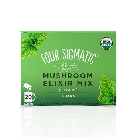Chaga Elixir, Coffee's, Cacao's & Elixir's from Four Sigmatic available at Nutrition Store Online