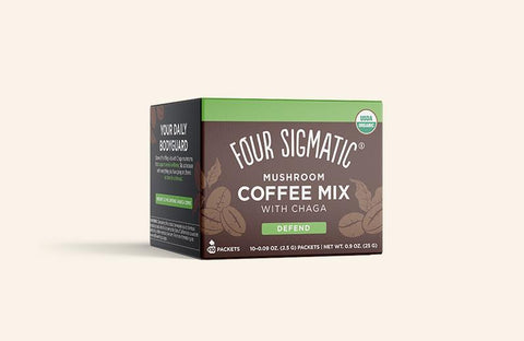 Instant Mushroom Coffee with Chaga and Cordyceps - Nutrition Store Online