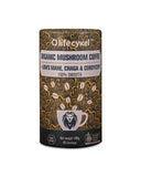 Mushroom Coffee with Lion's Mane, Chaga and Cordyceps, Coffee's, Cacao's & Elixir's from Life Cykel available at Nutrition Store Online