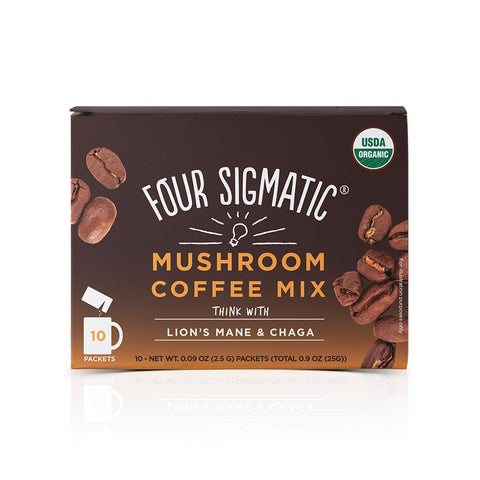 Mushroom Coffee with Lion's Mane, Coffee's, Cacao's & Elixir's from Four Sigmatic available at Nutrition Store Online