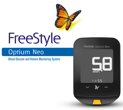 FreeStyle Optium Neo | Blood Glucose + Ketone Meter - Nutrition Store Online