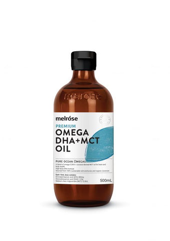 High DHA Fish Oil + MCT, MCT from Melrose available at Nutrition Store Online