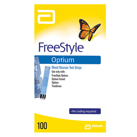 Blood Glucose Strips, Equipment from Freestyle available at Nutrition Store Online