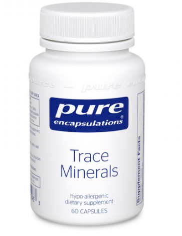 Trace Minerals | Pure Encapsulations | 60 caps - Nutrition Store Online
