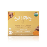 Golden Latte with Shiitake and Turmeric, Coffee's, Cacao's & Elixir's from Four Sigmatic available at Nutrition Store Online