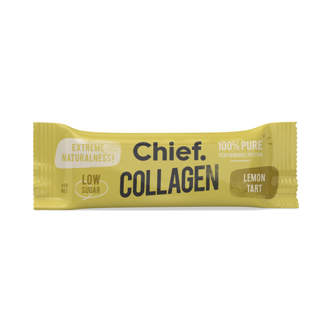 Chief Collagen Protein Bar | Lemon Tart, Collagen Bar from Chief Bar available at Nutrition Store Online