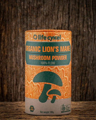 Lion's Mane Mushroom Powder, Coffee's, Cacao's & Elixir's from Life Cykel available at Nutrition Store Online