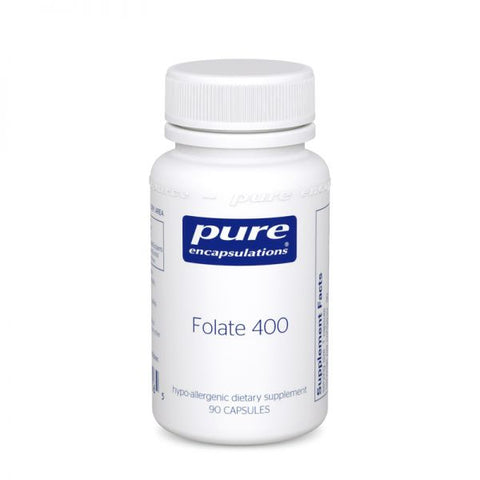 Folate 400 | Pure Encapsulations, Supplement from Pure Encapsulations available at Nutrition Store Online