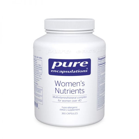 Women's Nutrients | 180 caps, Practitioner Only Products from Pure Encapsulations available at Nutrition Store Online