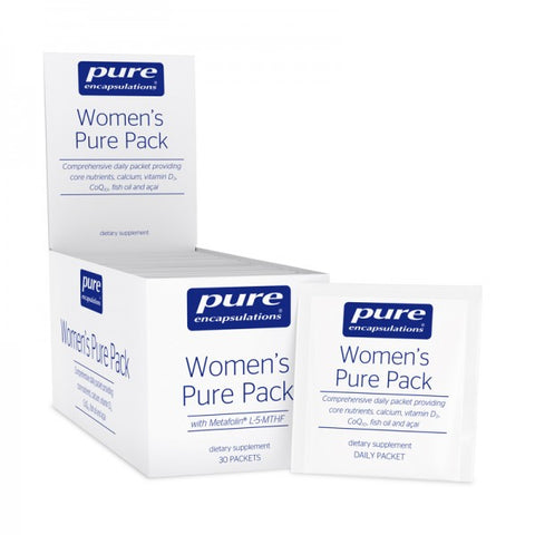 Women's Pure Pack | Box of 30, Practitioner Only Products from Pure Encapsulations available at Nutrition Store Online