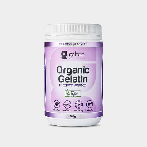 Organic Gelatin Powder | Porcine | Premium Grade, Protein Powder from Gelpro available at Nutrition Store Online