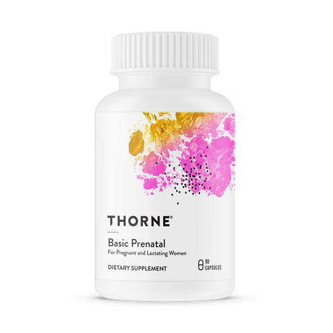 Basic Pre-Natal | Thorne | 90 caps - Nutrition Store Online