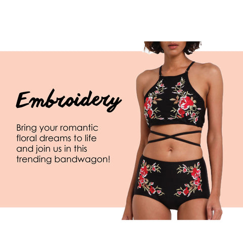 Shop embroidery collection
