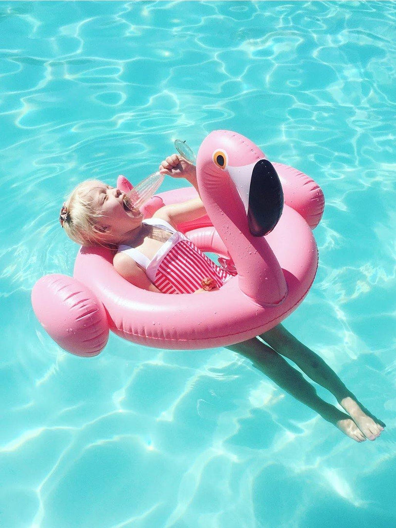 The Inflatable Baby Flamingo Float-Pink N' Proper