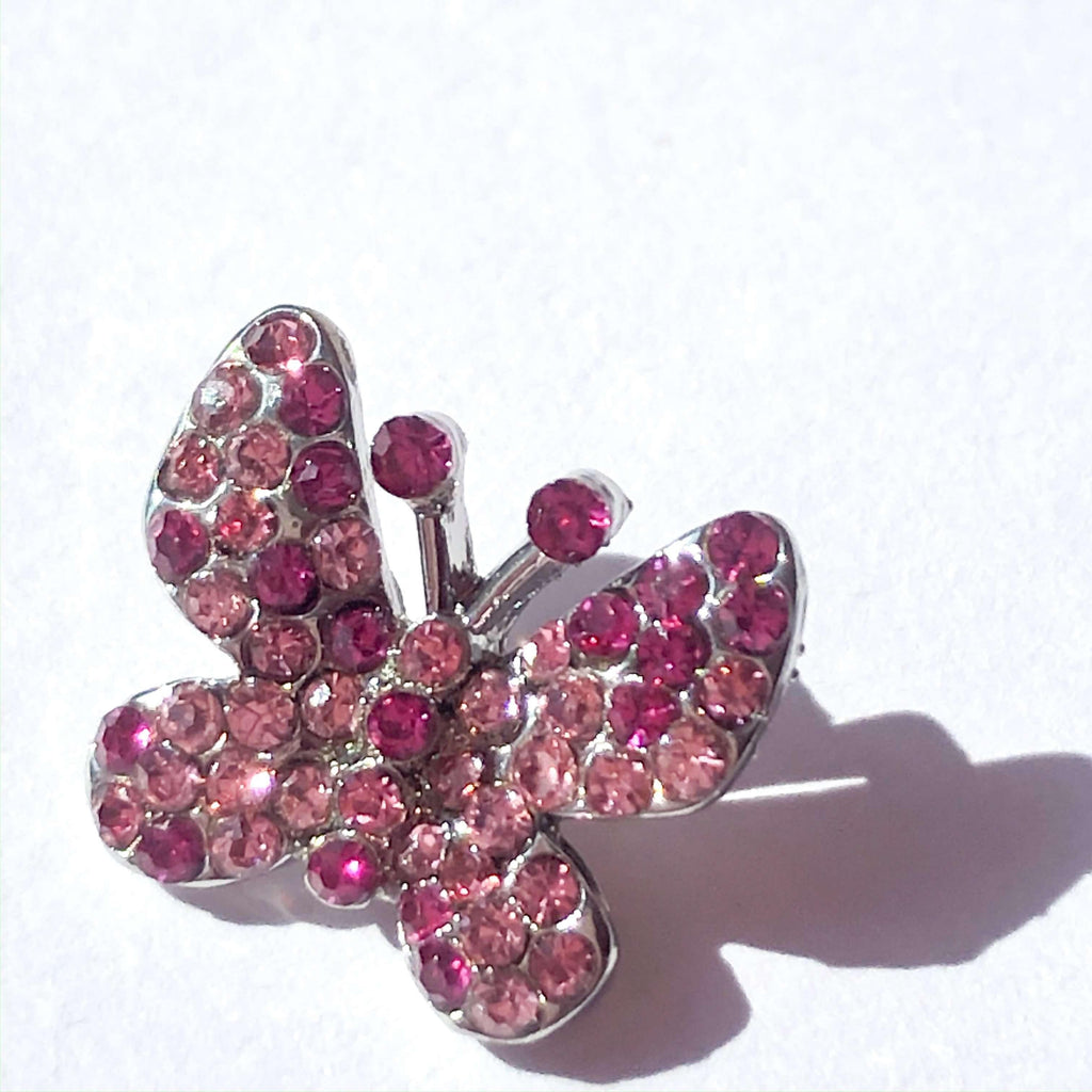 Pink N' Proper:Baia Baia Butterfly Pink Small Charm
