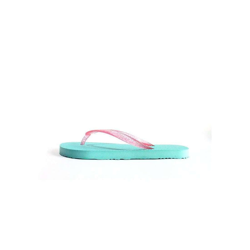 Pink N' Proper:BASIC Baia Baia Cockatoo Flip-Flops with Virtual Pink Glitter Straps