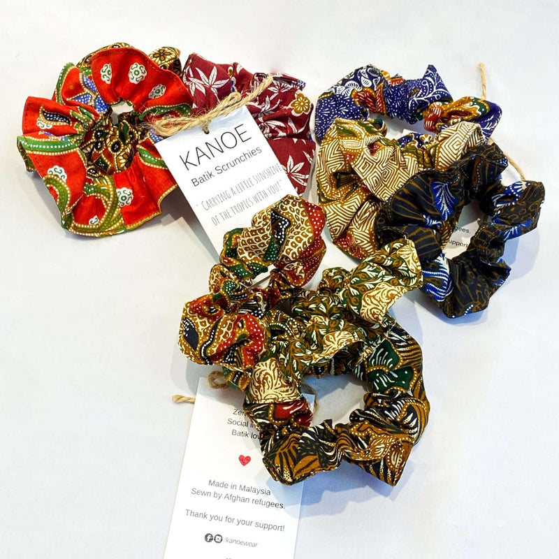 Pink N' Proper:Batik Scrunchies Set of 3
