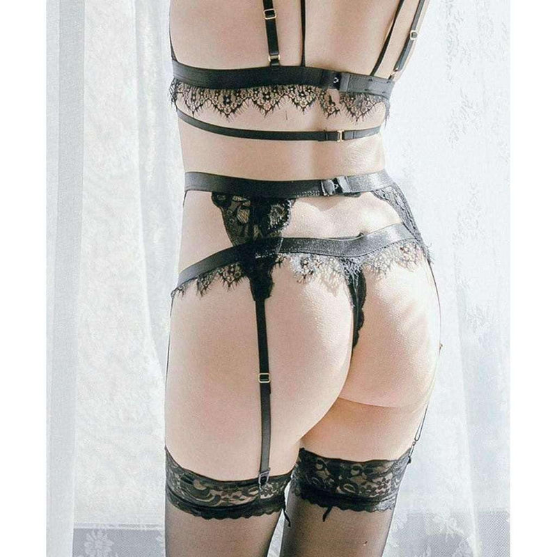 Pink N' Proper:Frenchies Sua Garter Belt Set
