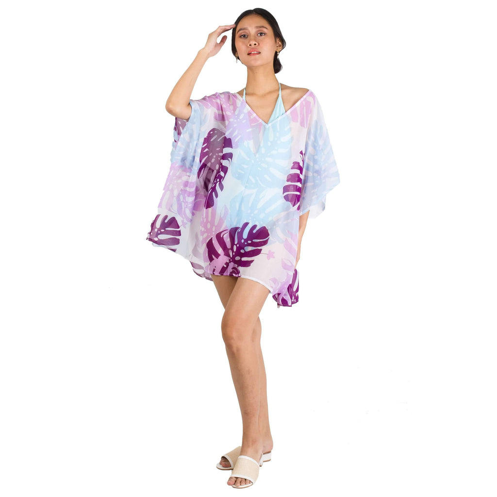 Pink N' Proper:Miel Chiffon Beach Kaftan Dress