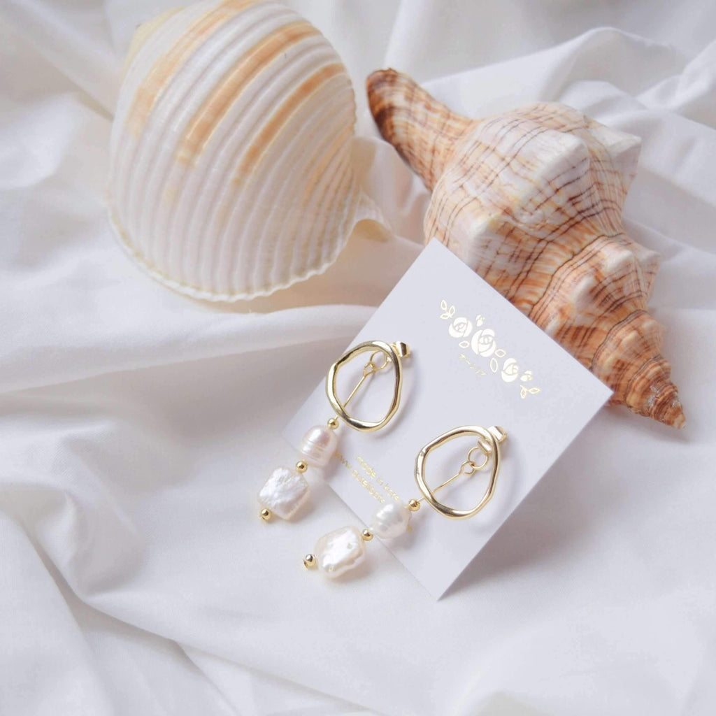 Pink N' Proper:Gold Loire Earrings