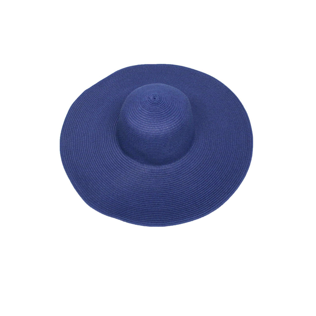 Pink N' Proper:Straw Hat in Navy,None / None