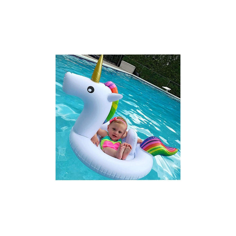 Pink N' Proper:The Inflatable Baby Unicorn Float