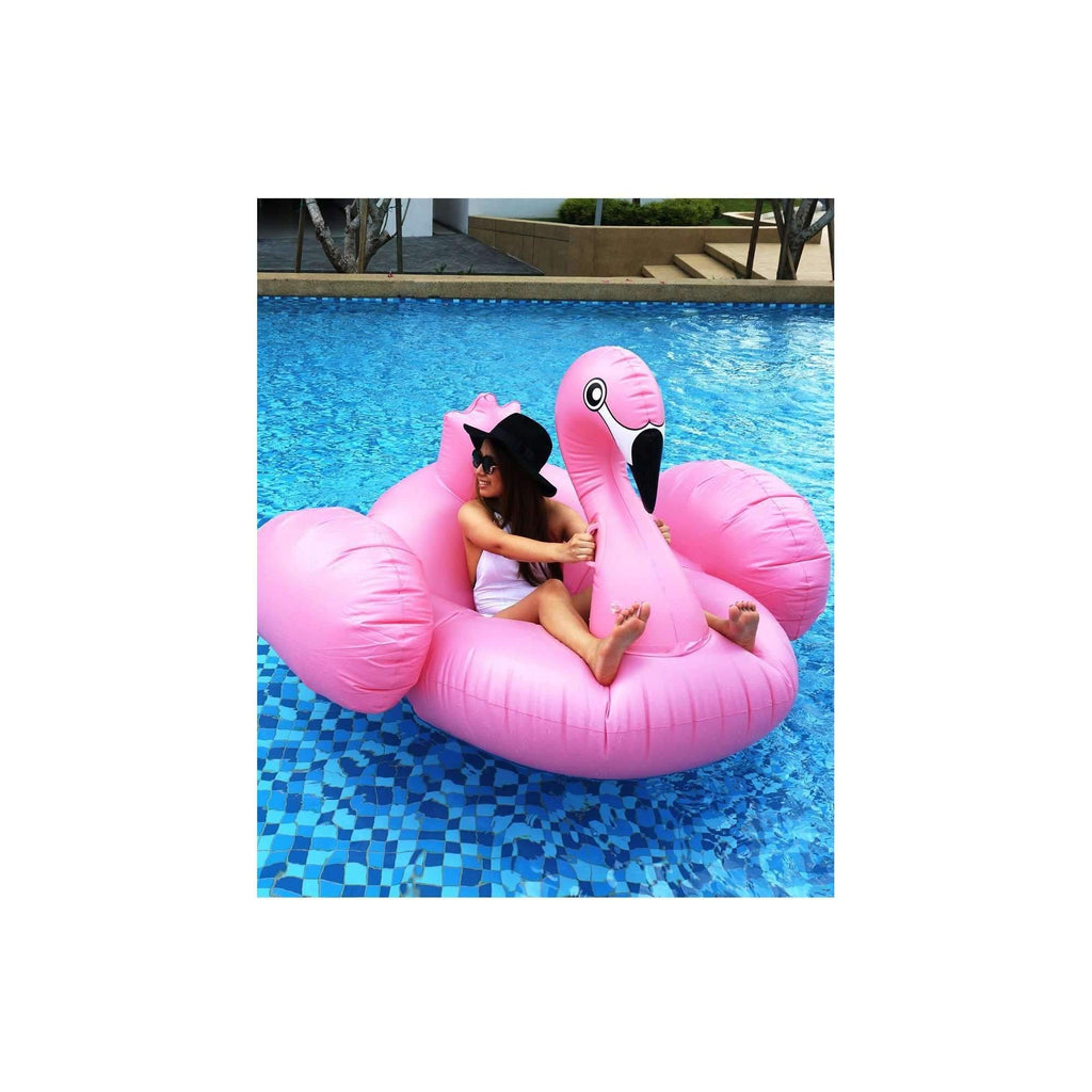 Pink N' Proper:The Inflatable Flamingo Float