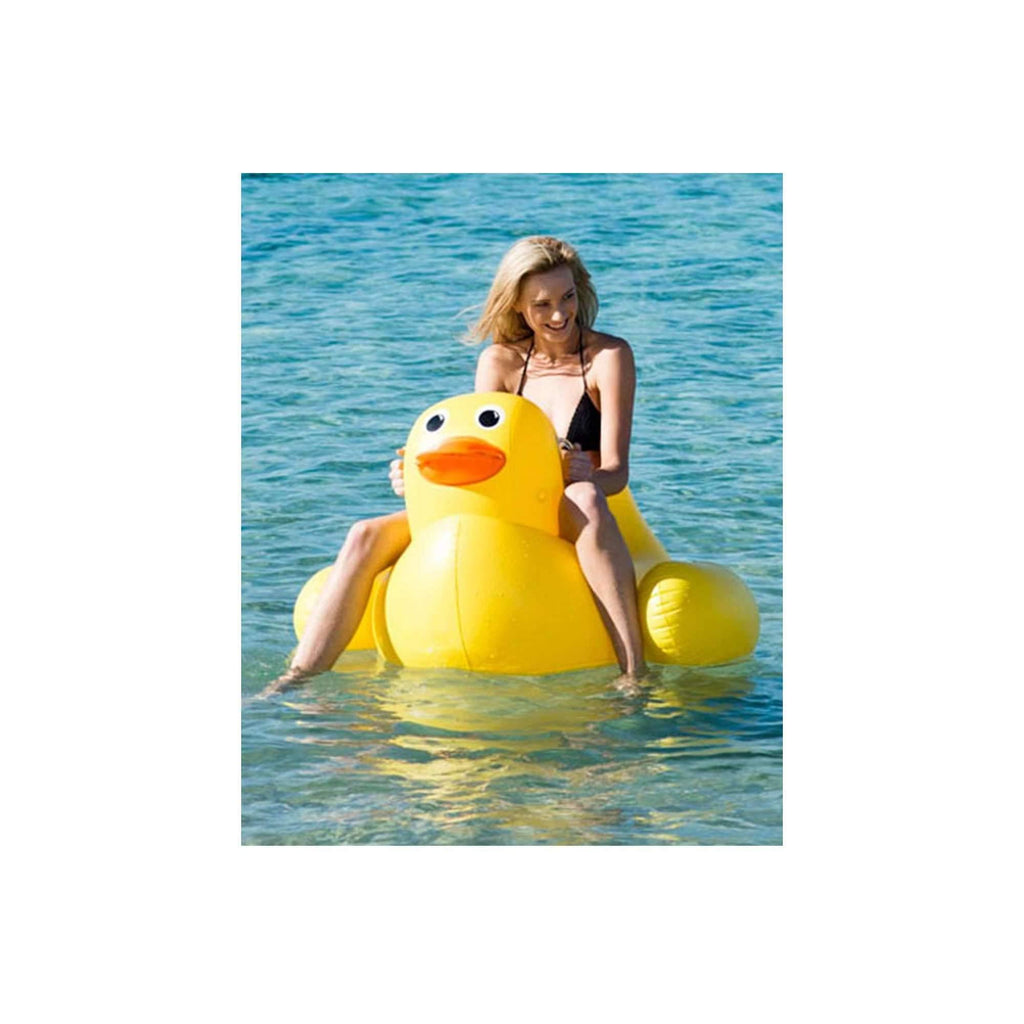 Pink N' Proper:The Inflatable Rubber Ducky Float