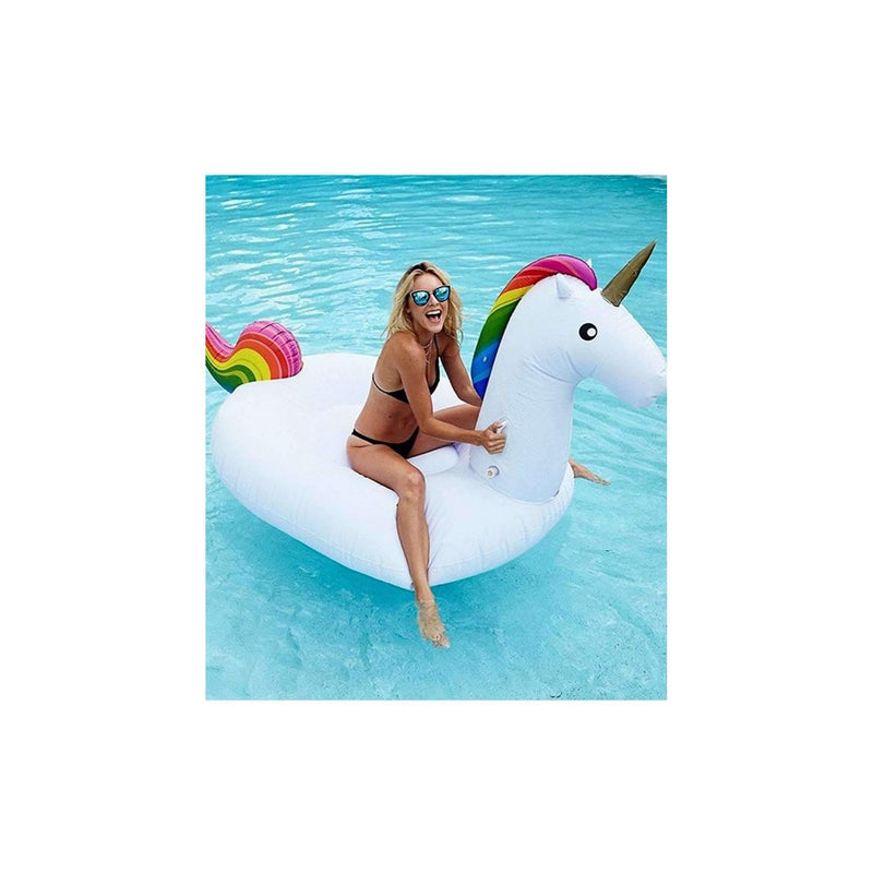 The Inflatable Baby Swan Float