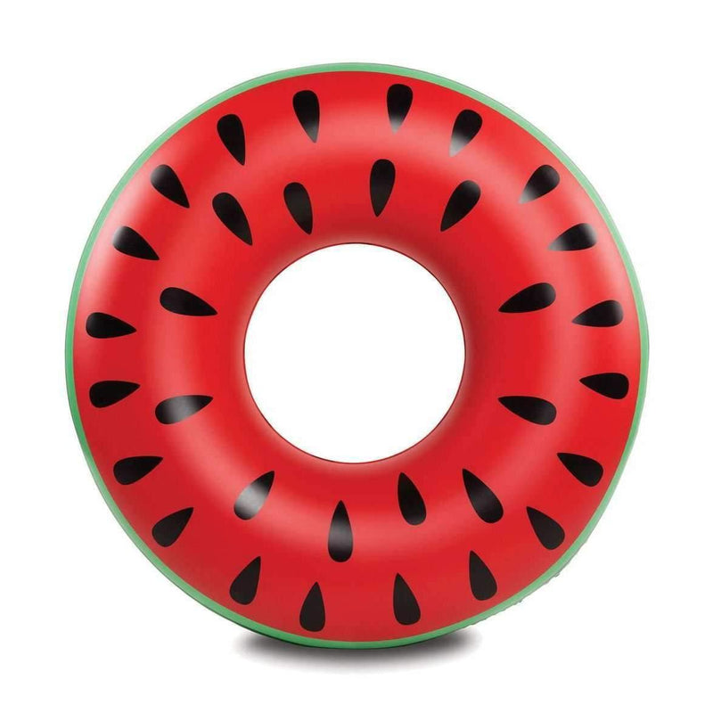 Pink N' Proper:The Inflatable Watermelon Ring Float