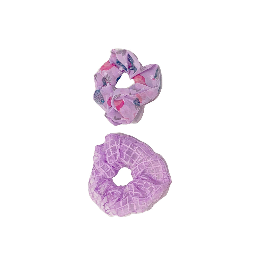 Pink N' Proper:Seven Seas Vacation Scrunchie 2 Pack Set