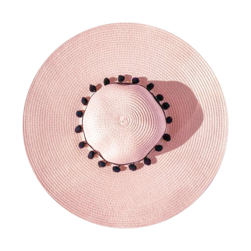 Pink N' Proper:Straw Hat in Pink