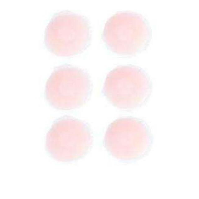 Pink N' Proper:Ultimate Silicone Reusable Stick On Nipple Pasties 3 pack (Round)