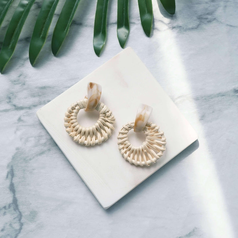 Pink N' Proper:Wave Earrings