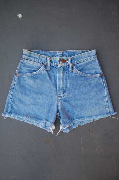 Vintage Wrangler Cutoff Denim Shorts