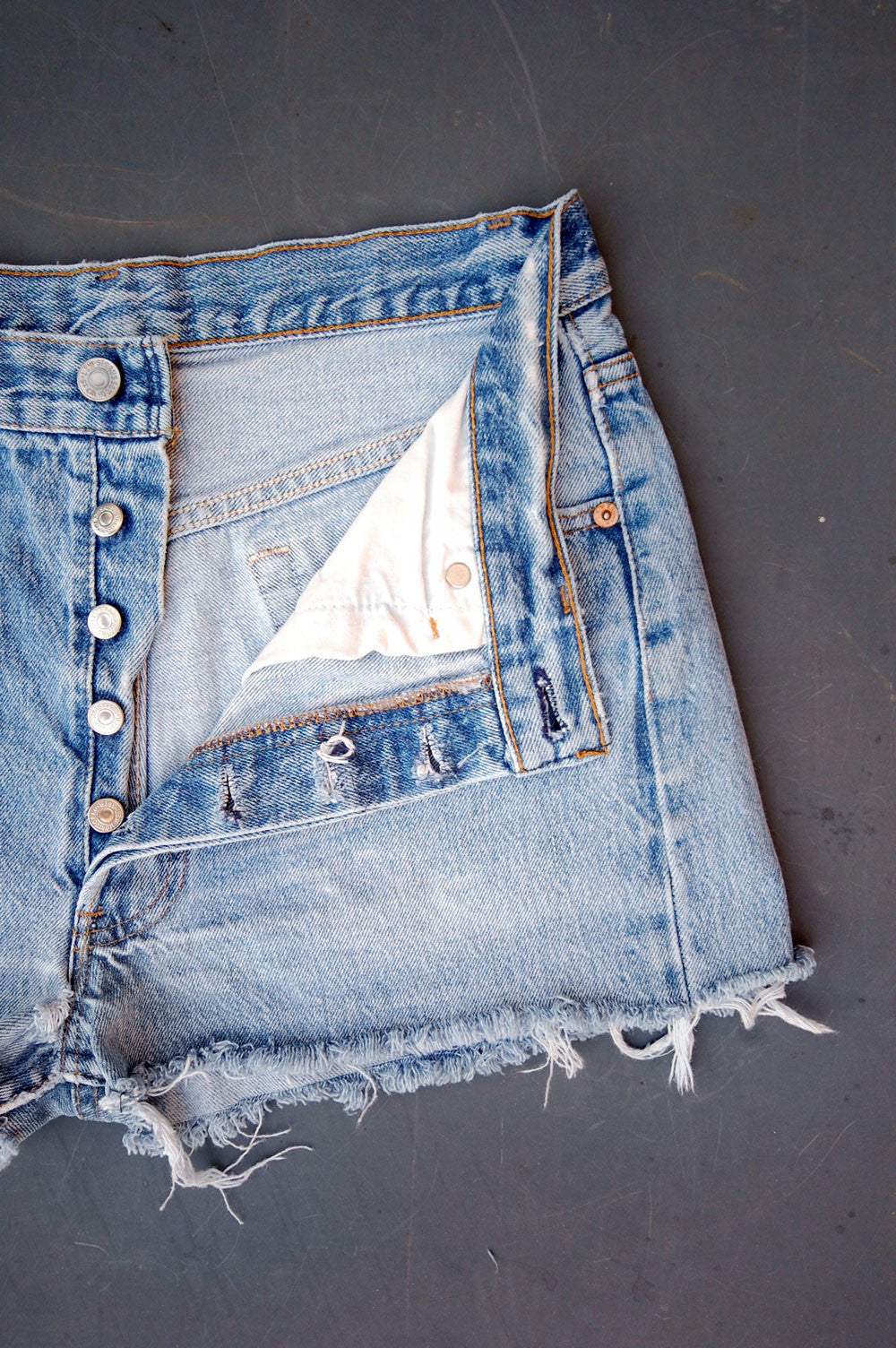 Vintage Levi's 501 USA Cutoff Denim Shorts