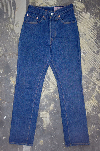 Vintage Levi's 501 For Women USA Transitional One Wash Denim Jeans
