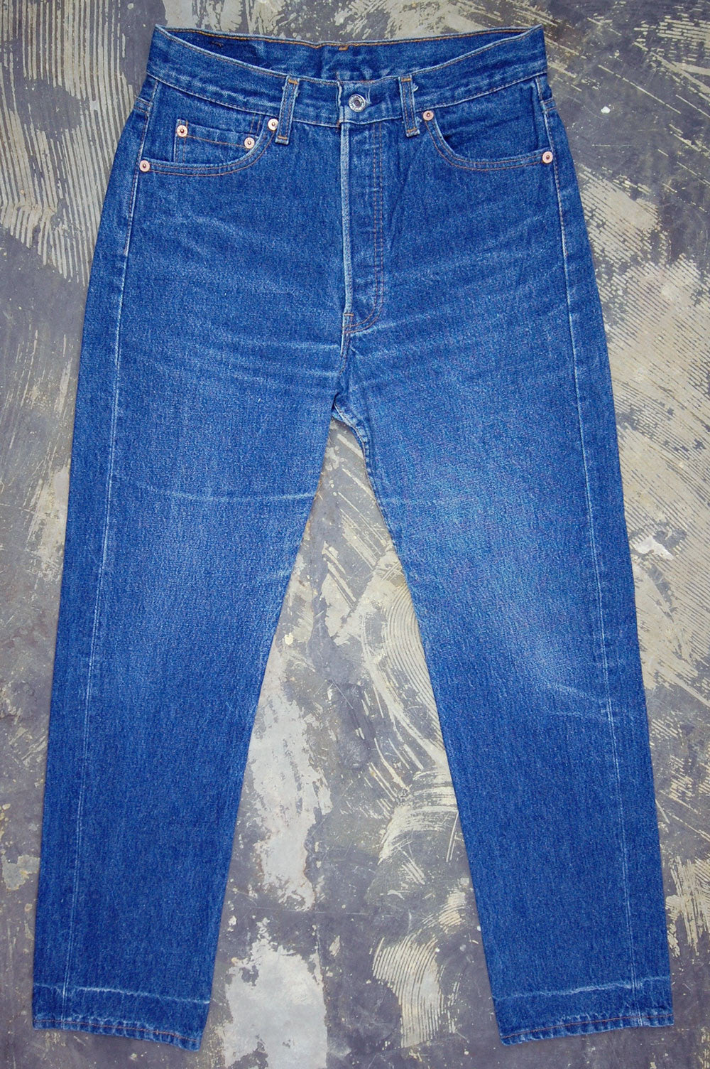 Vintage Levi's 501xx USA One Wash Denim Jeans