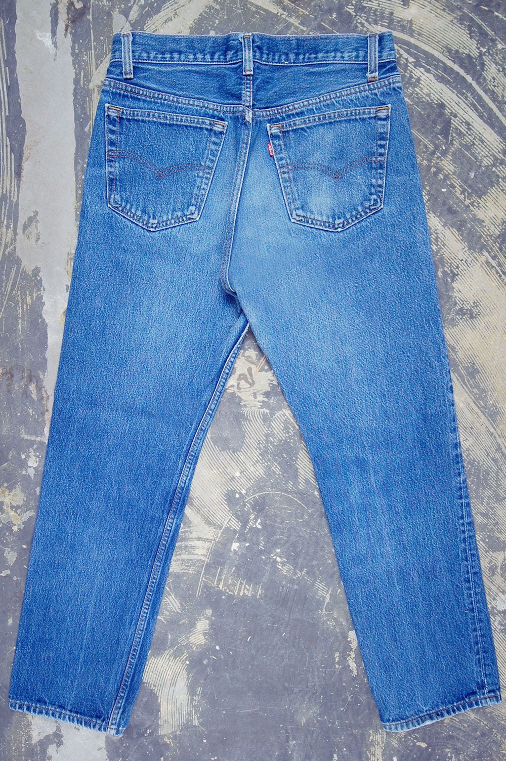 Vintage Levi's 501 USA Super Whiskered Denim Jeans