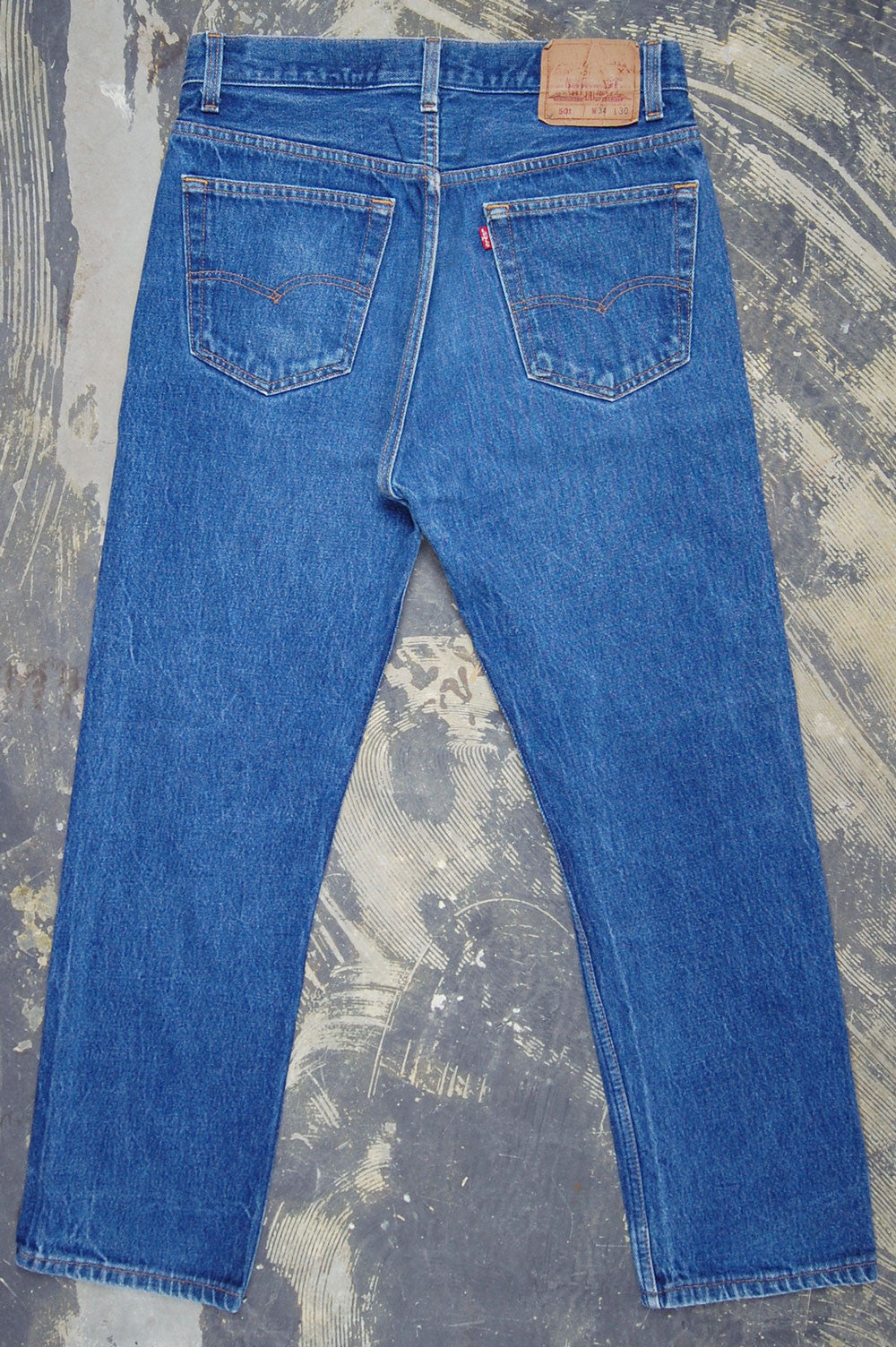 Vintage Levi's 501 USA Two Wash Denim Jeans