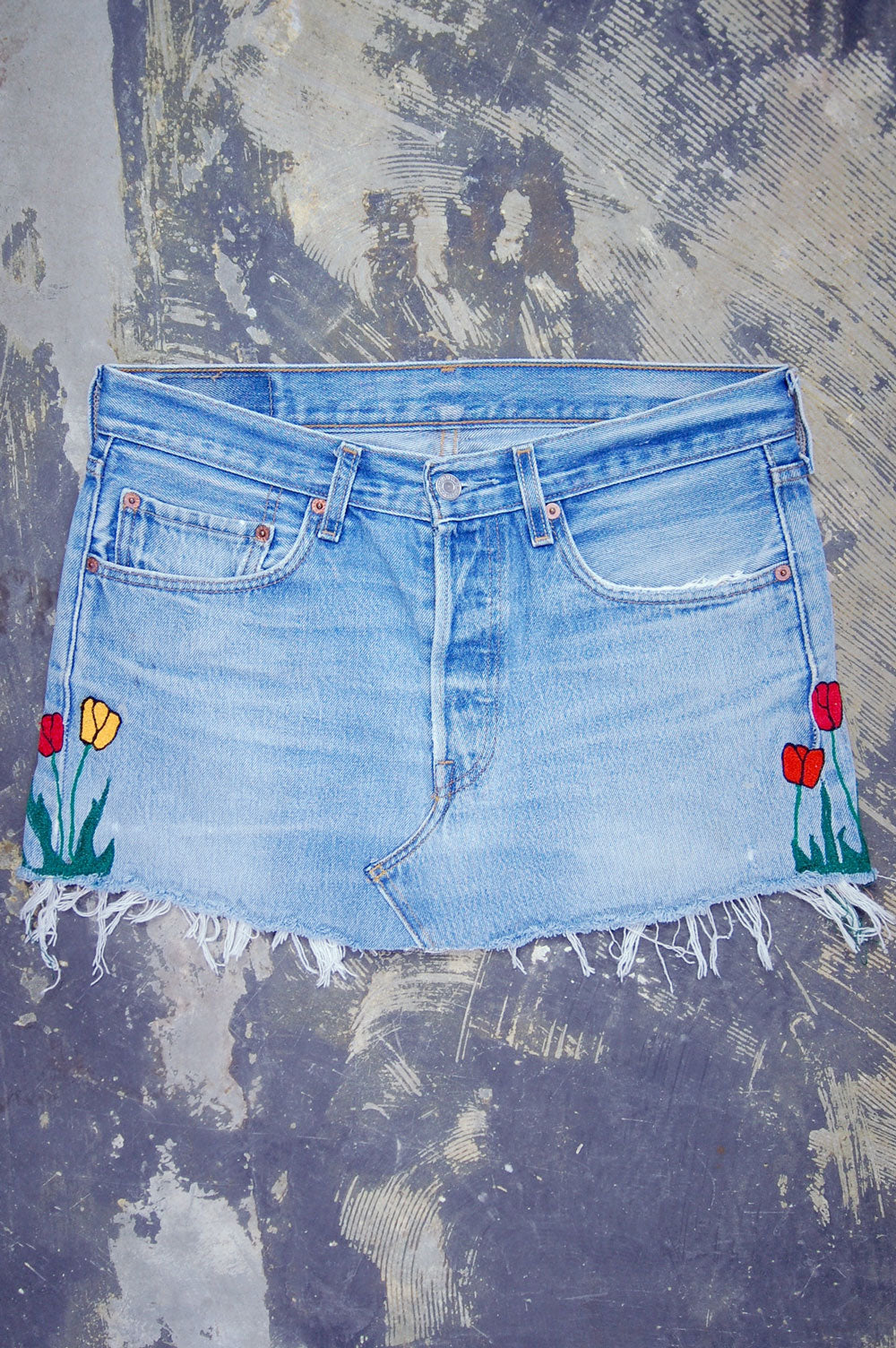 Vintage Levi's 501xx Denim Skirt