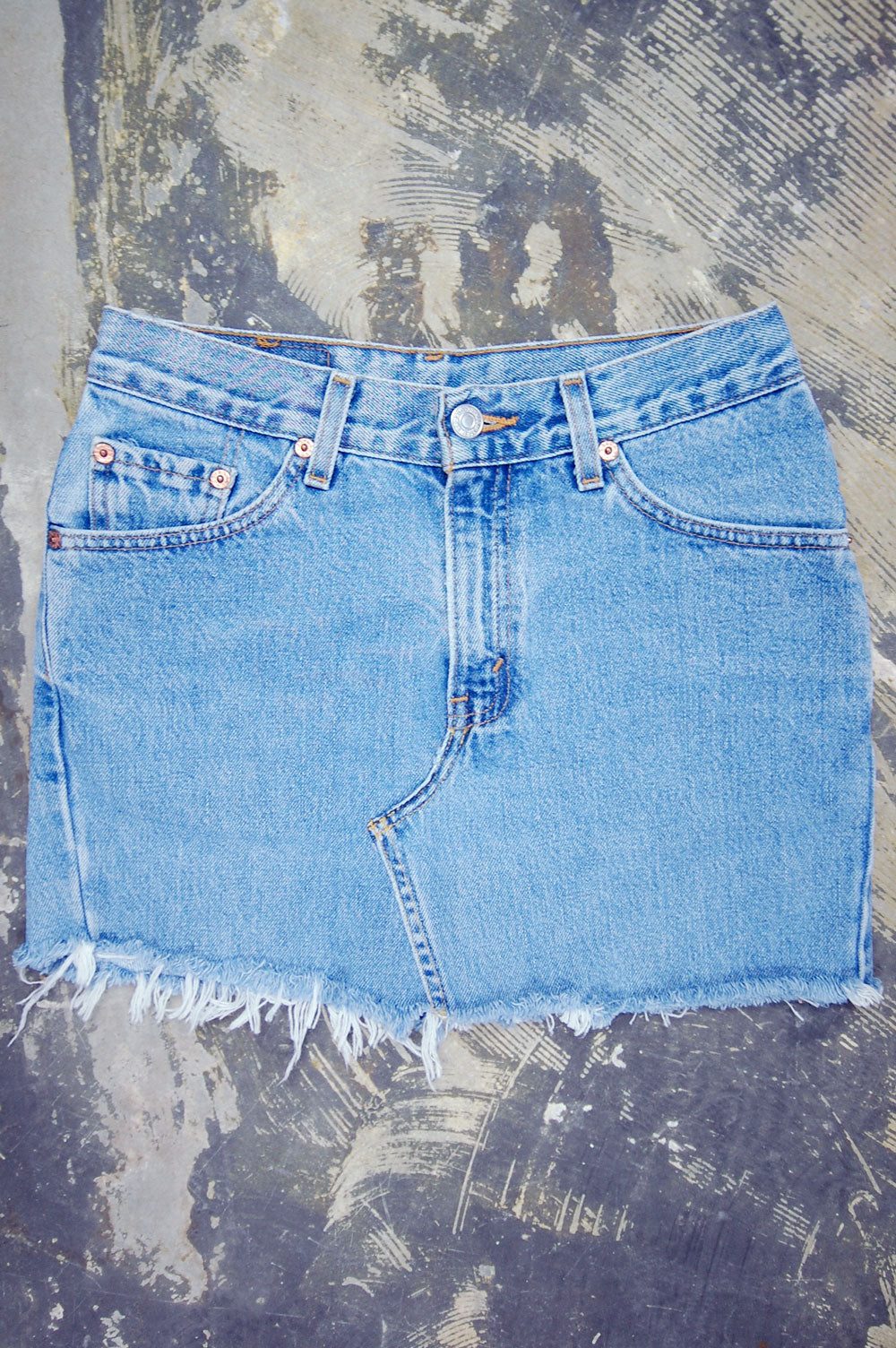 Vintage Levi's 501 Custom Denim Skirt