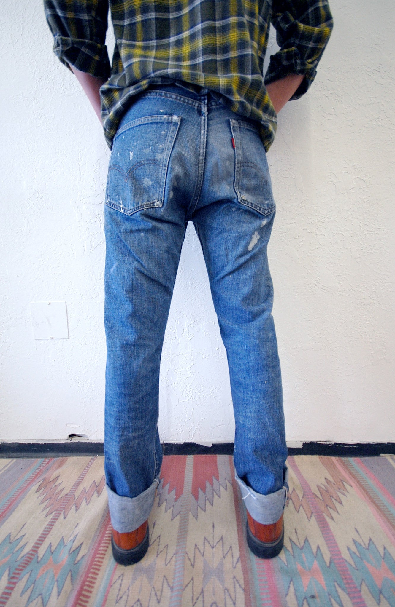 Vintage Levi's 501 Big E Redline Denim